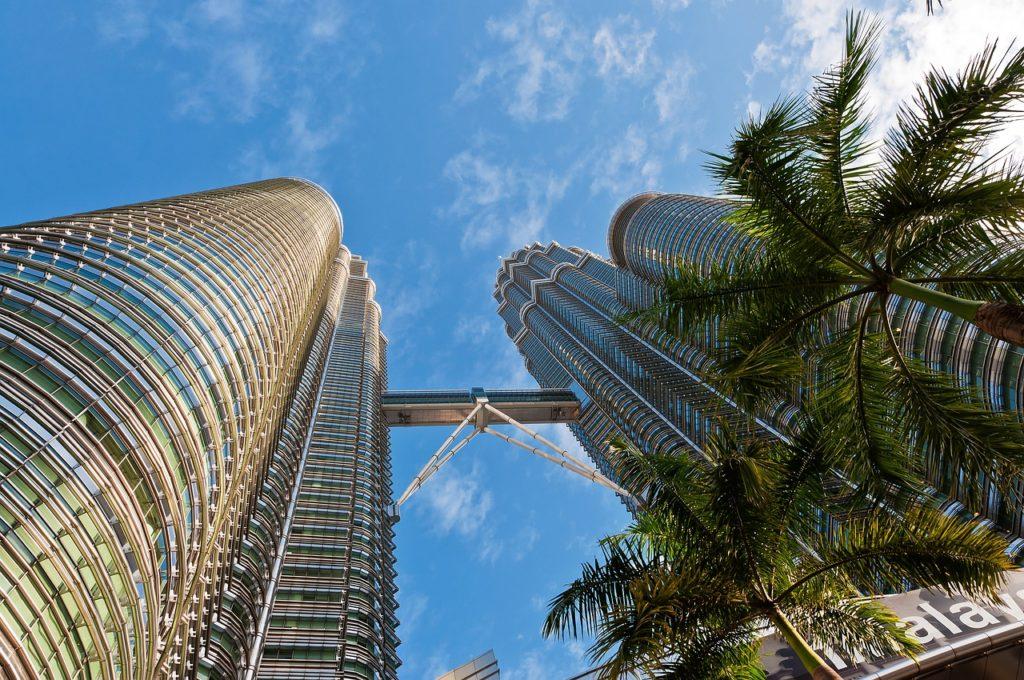 Башни Петронас, Малайзия, Куала- Лумпур