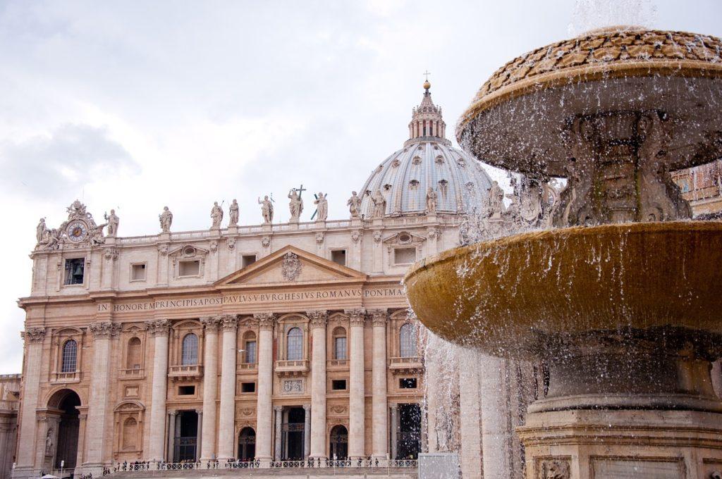 Базилика Святого Петра Рим Италия