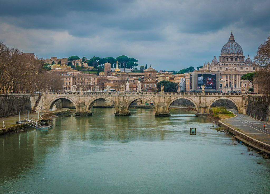 Базилика Святого Петра в Риме Италия