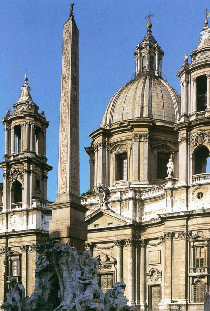 Церковь Сант-Агнесе Рим Италия
