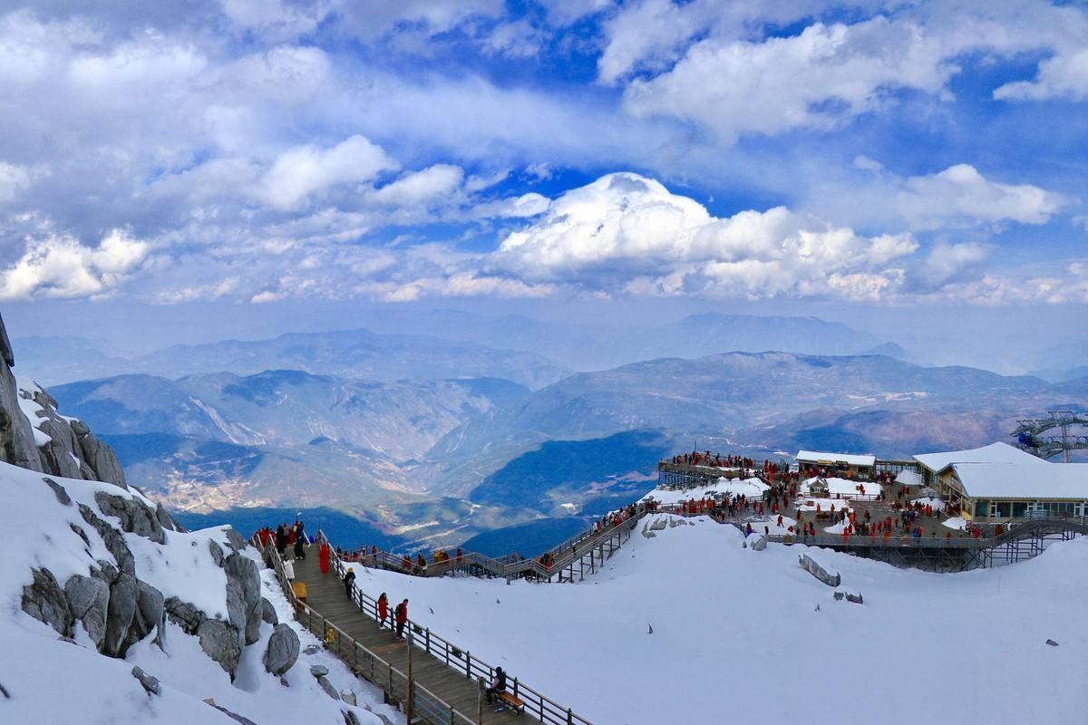 Гора Юйлун, Юньнань, Китай