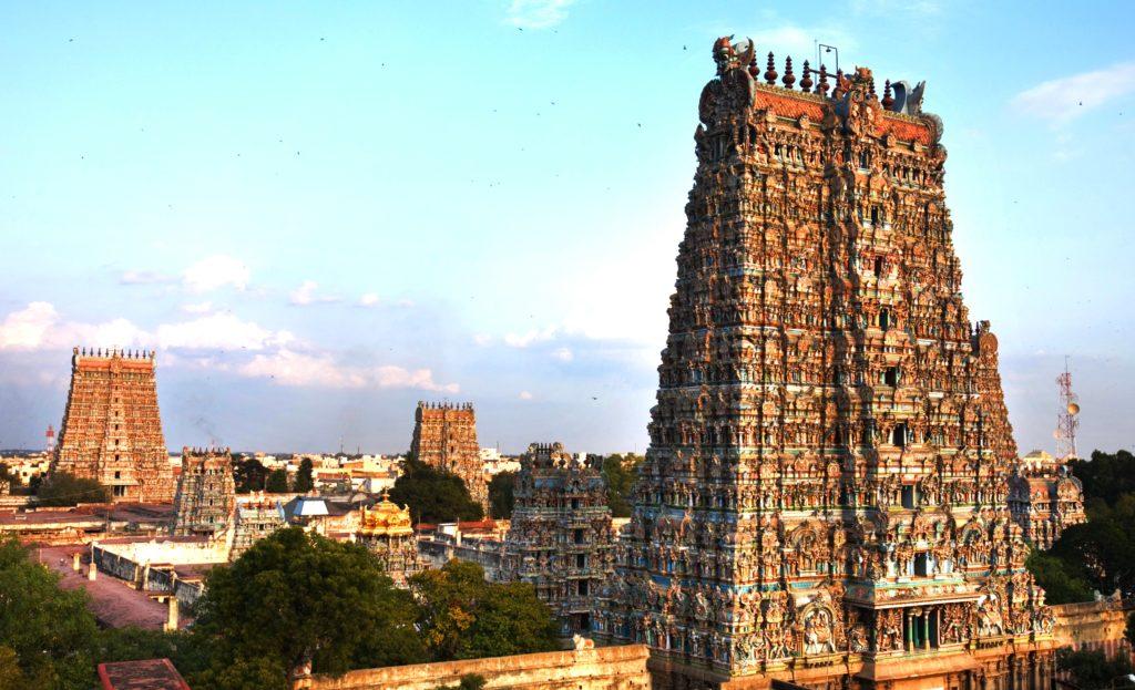 9. Храм Минакши в Мадурай, Индия