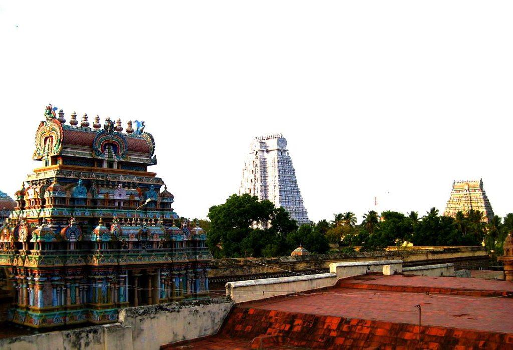 Храм Ранганатхи в Шрирангаме, Индия