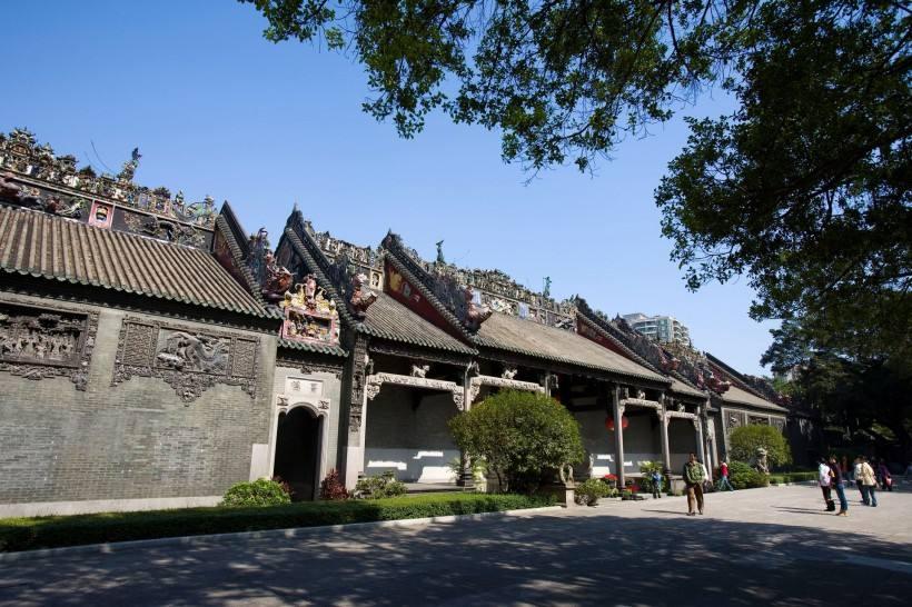 Храм предков семьи Чжэнь, Гуанчжоу, Китай