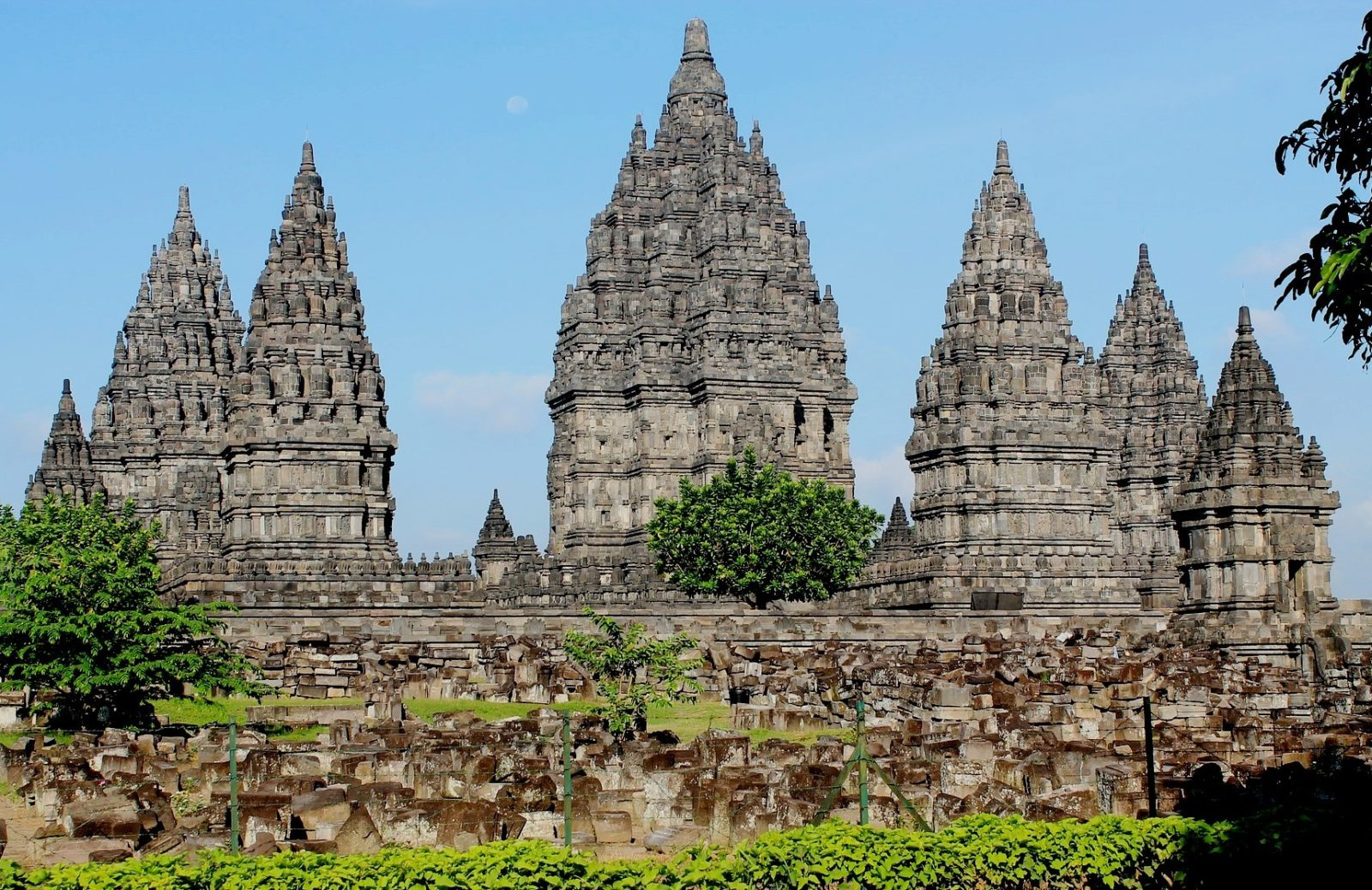 Индуистский храм Прамбанан, Индонезия