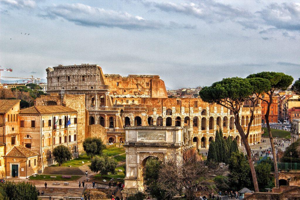 Колизей рим италия