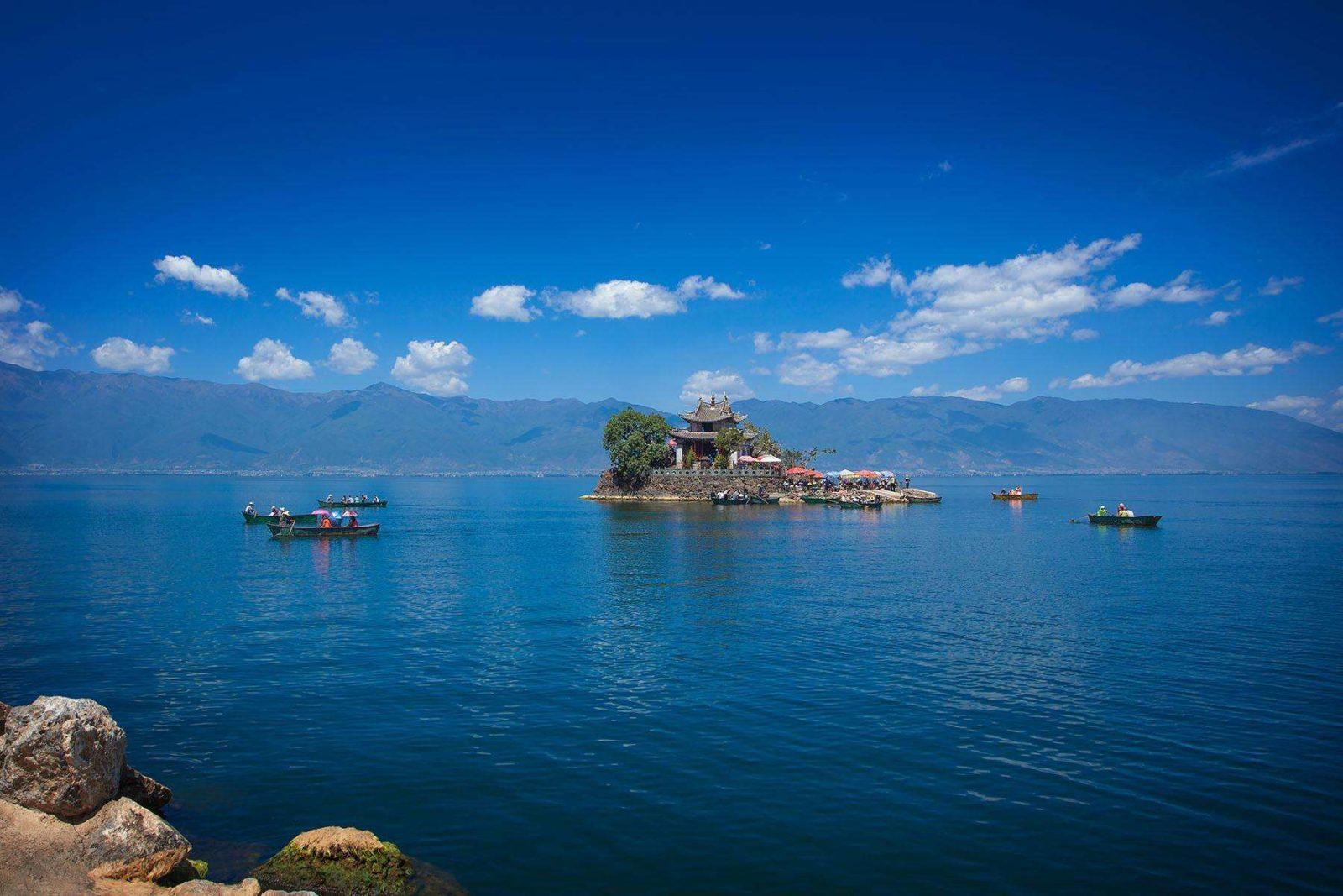 Озеро Эрхай, Юньнань, Китай