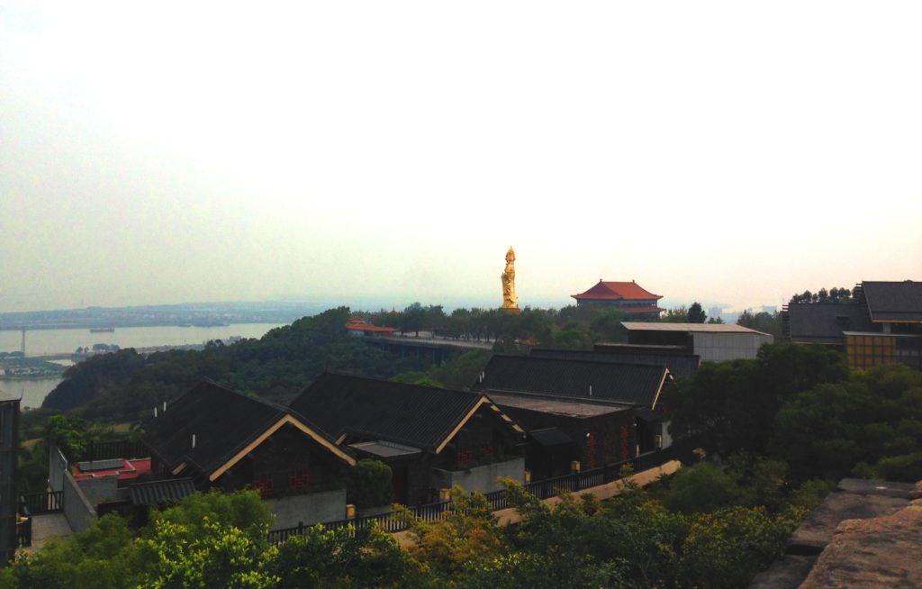 Парк Лотосовые горы в Гуанчжоу, Китай