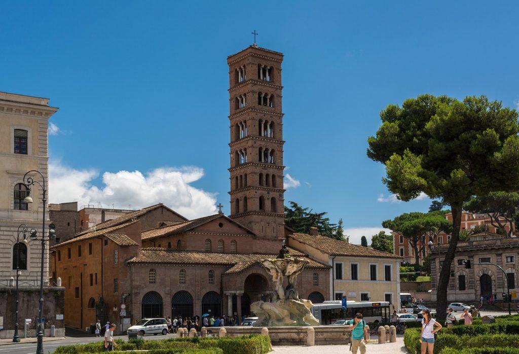 Санта-Мария-ин-Космедин Рим Италия