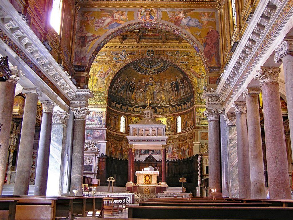 Санта-Мария-ин-Трастевере Рим Италия
