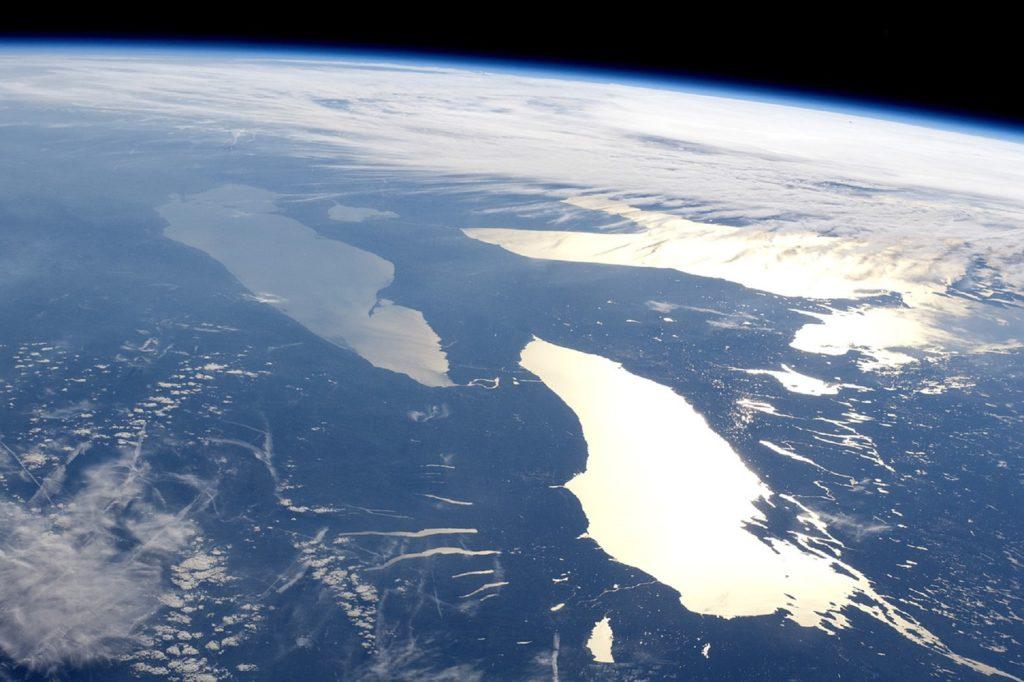 Пять Великих Озер Канады