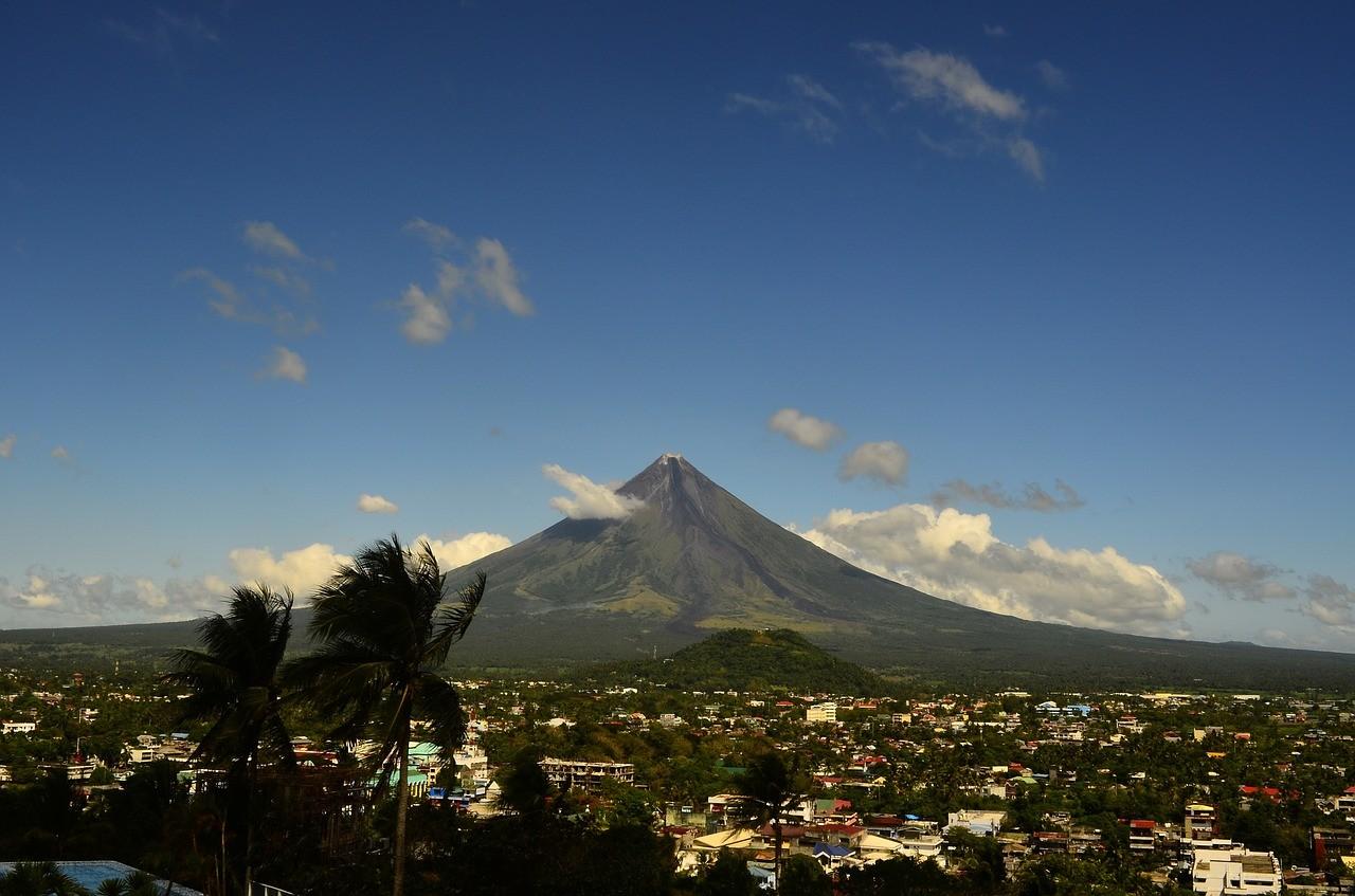 Вулкан Майон Бикол филиппины