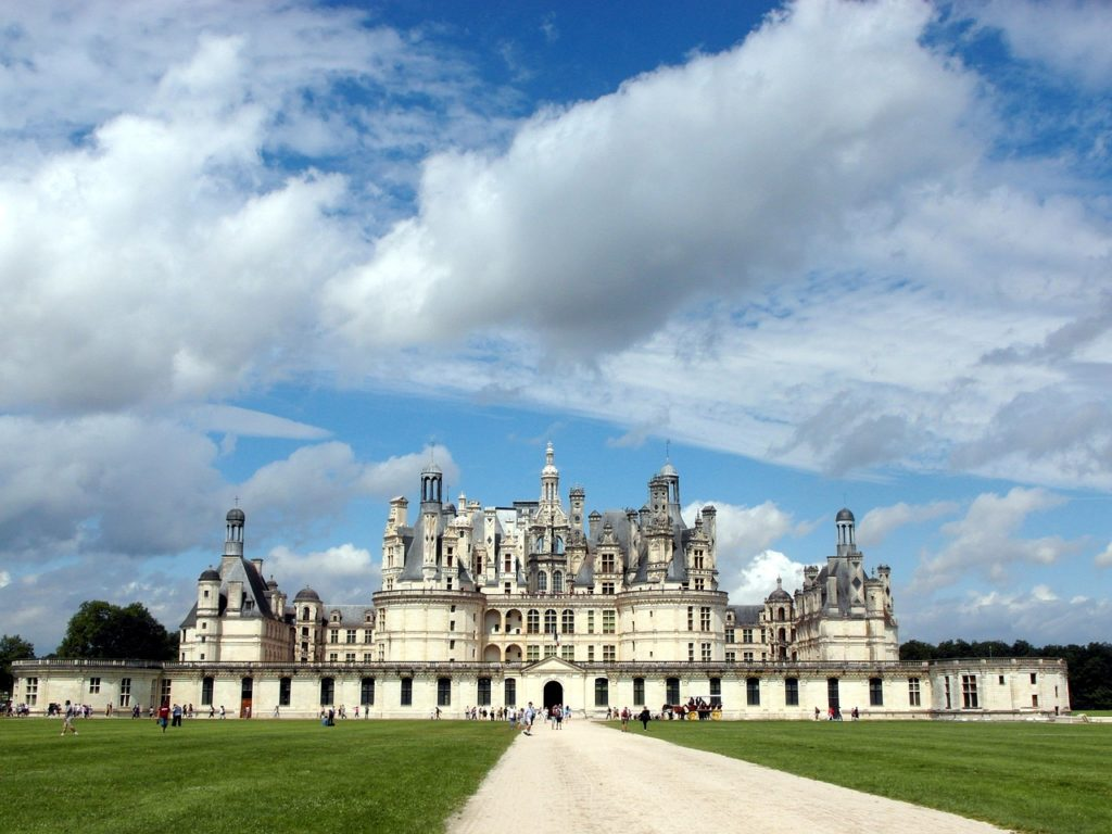 5 самых красивых замков Франции