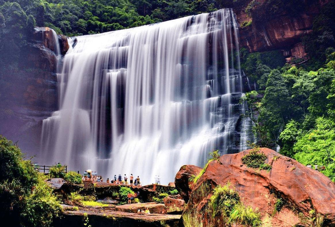 большой водопад Чишуй, Гуйчжоу, Китай