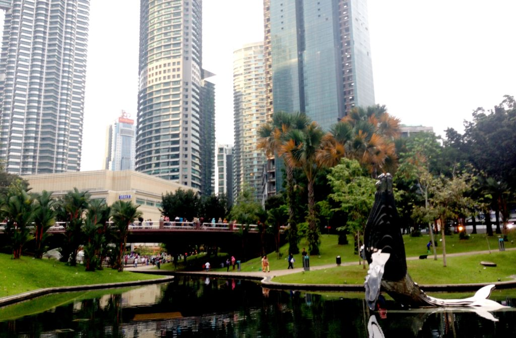 центральный парк KKLC, Куала ЛУмпур Малайзия