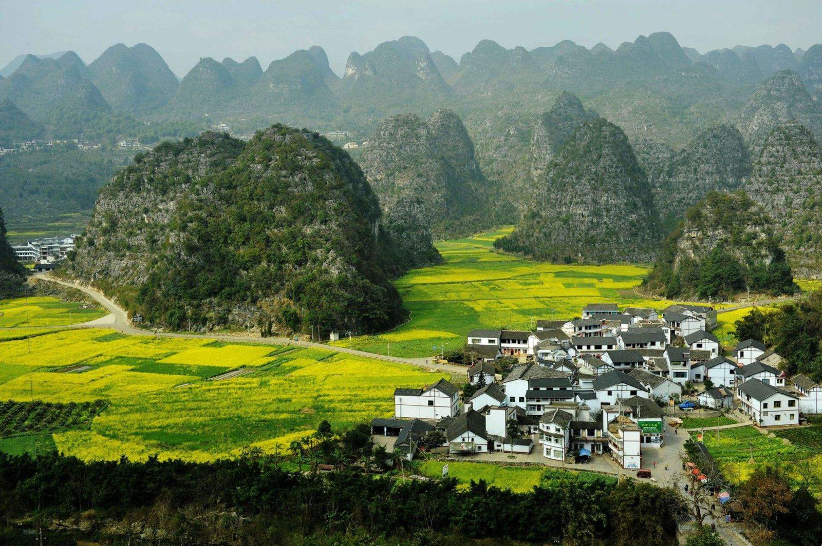 Лес тысячи вершин, город Синьи Гуйчжоу Китай