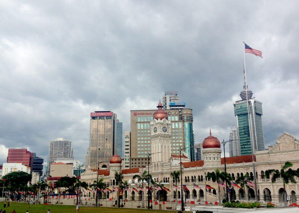 площадь Независимости Мердека, Куала Лумпур, Малайзия