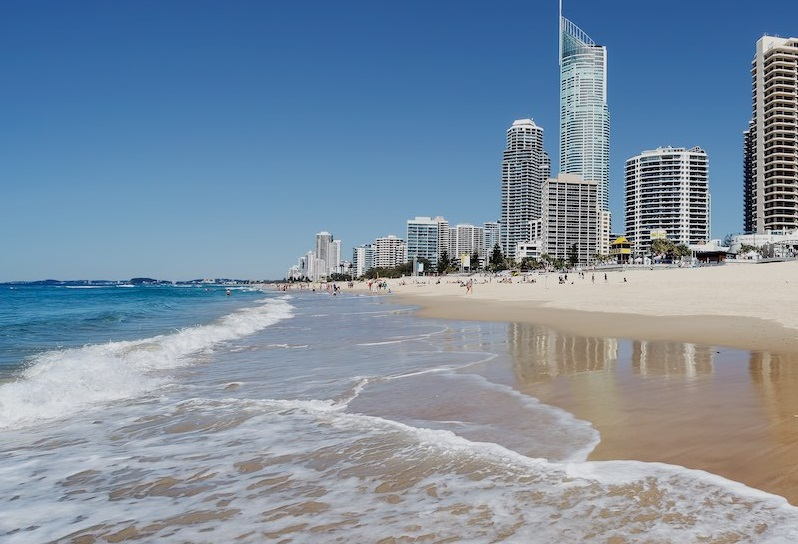 серфер парадайз, Голд Кост, Австралия