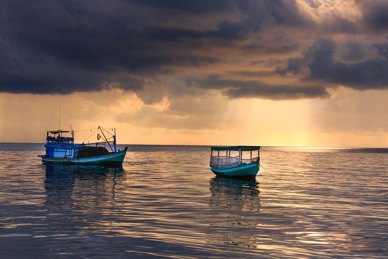 Море острова Фукуок
