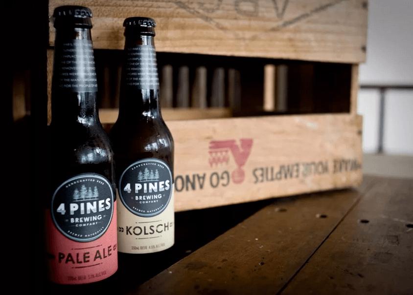 4 pines, пиво Австралия