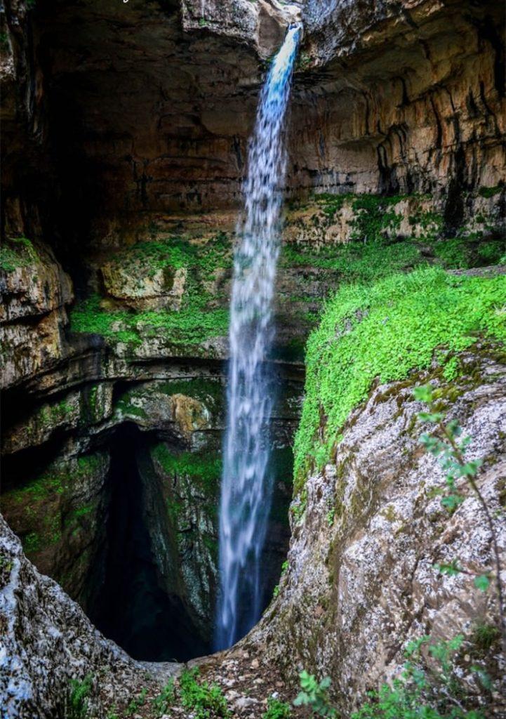 Баатара, Пещера трех мостов, Ливан