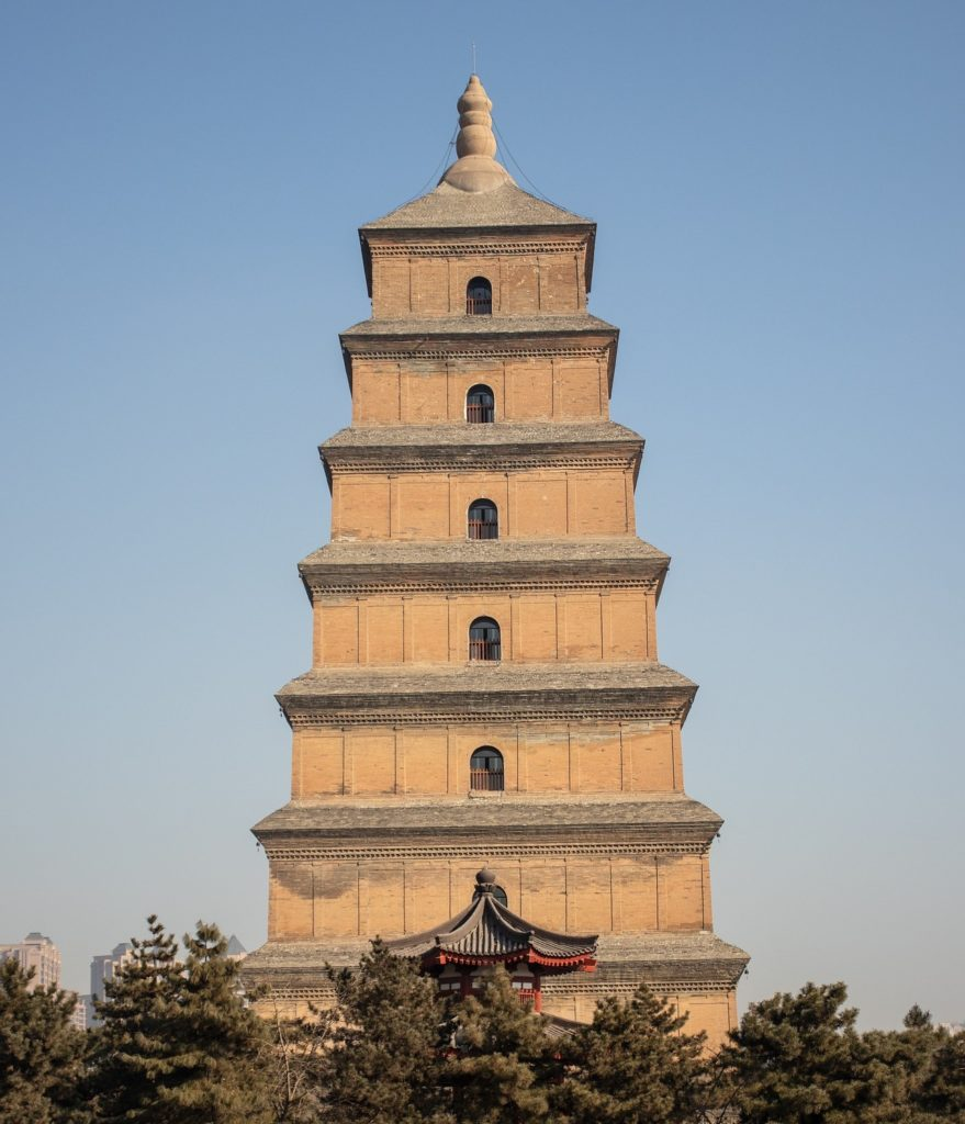 Большая пагода диких гусей, Сиань, Китай