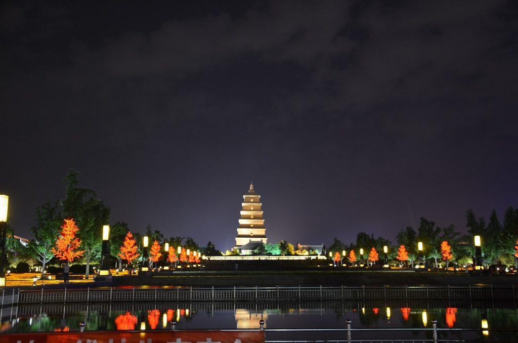 Большая пагода диких гусей, Си
