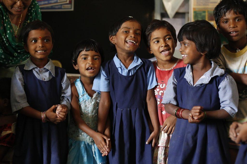 Дети в Индии