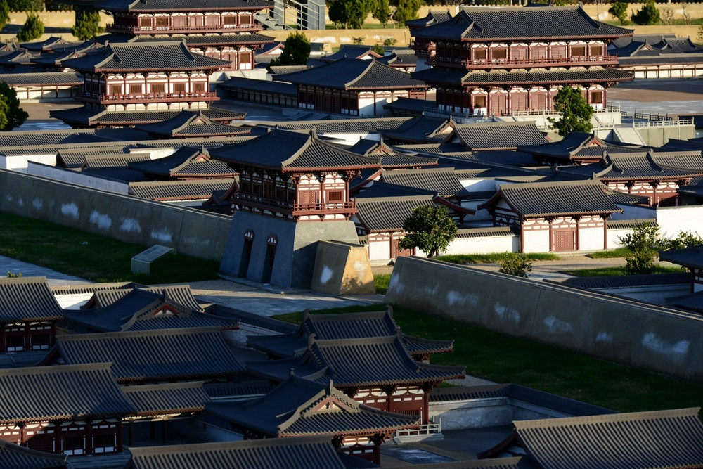 Дворец Дамин миниатюра, Киань, Китай