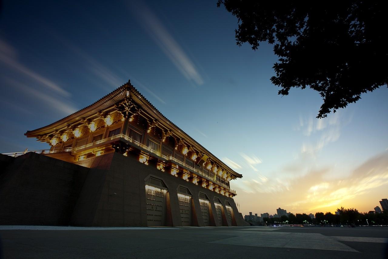 Дворец Дамин, Сиань, Китай