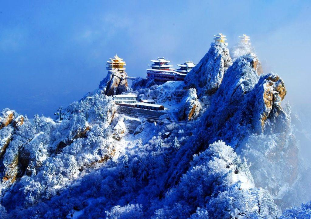 Гора Лаоцзюнь, Лоян, Китай