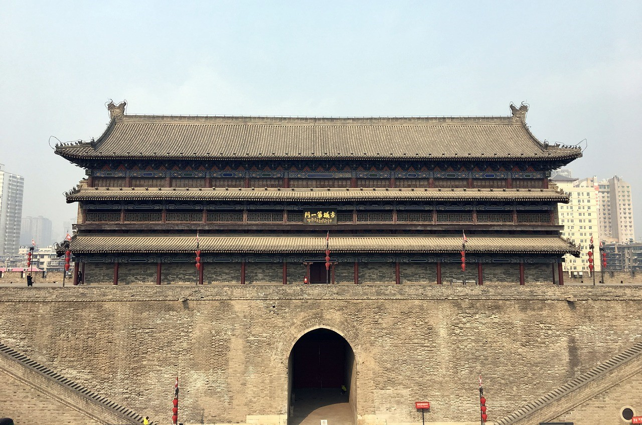 Городская стена, Сиань, Китай