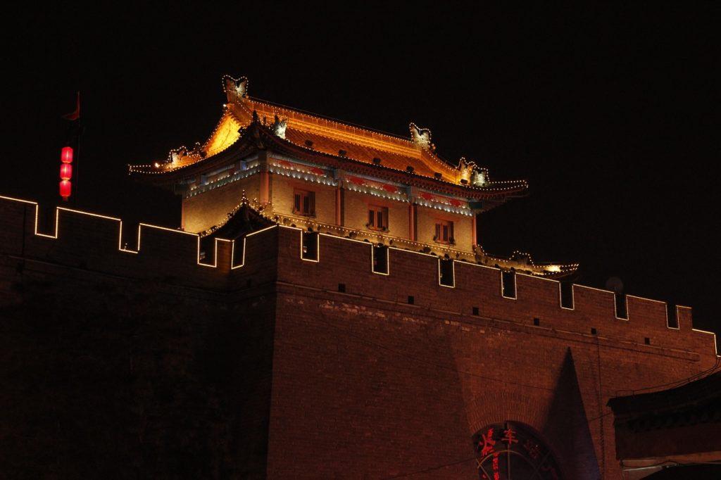 Городская стена Сиань, Китай