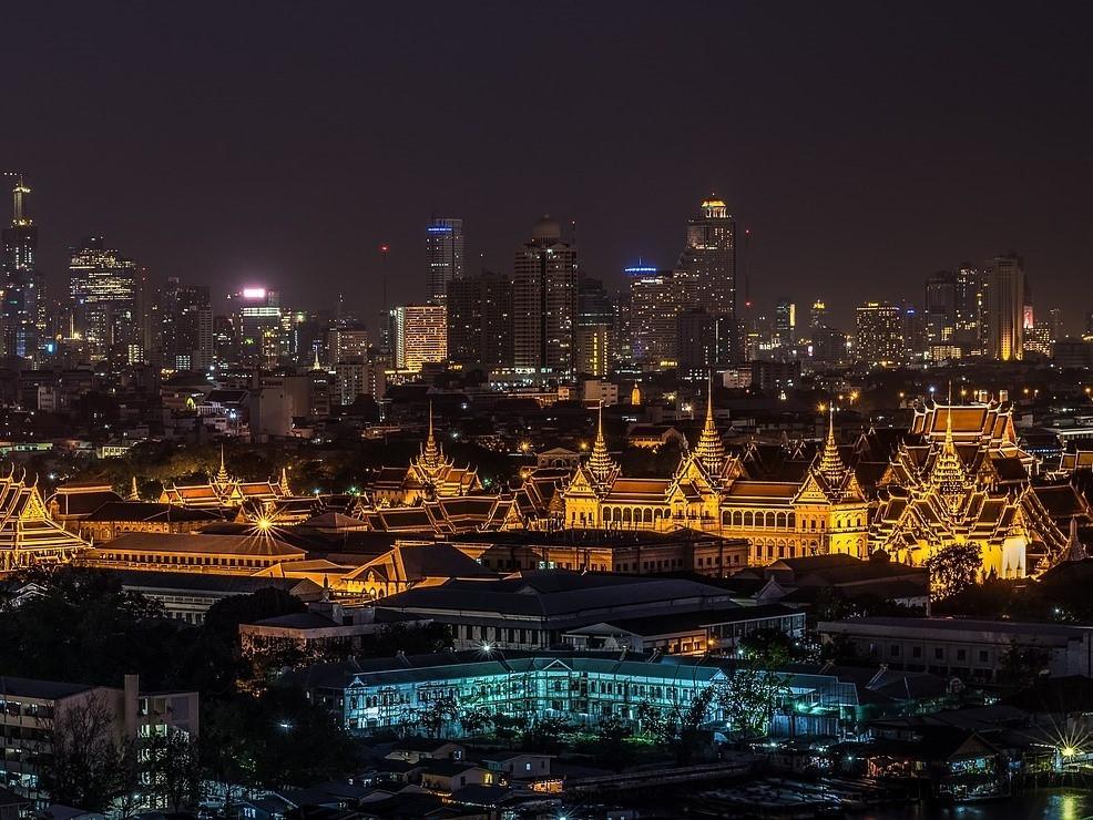 Храм Изумрудного Будды в Бангкоке, Таиланд