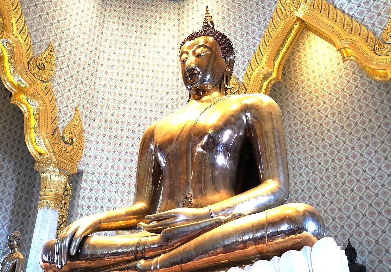 Храм Золотого Будды в Бангкоке, Таиланд