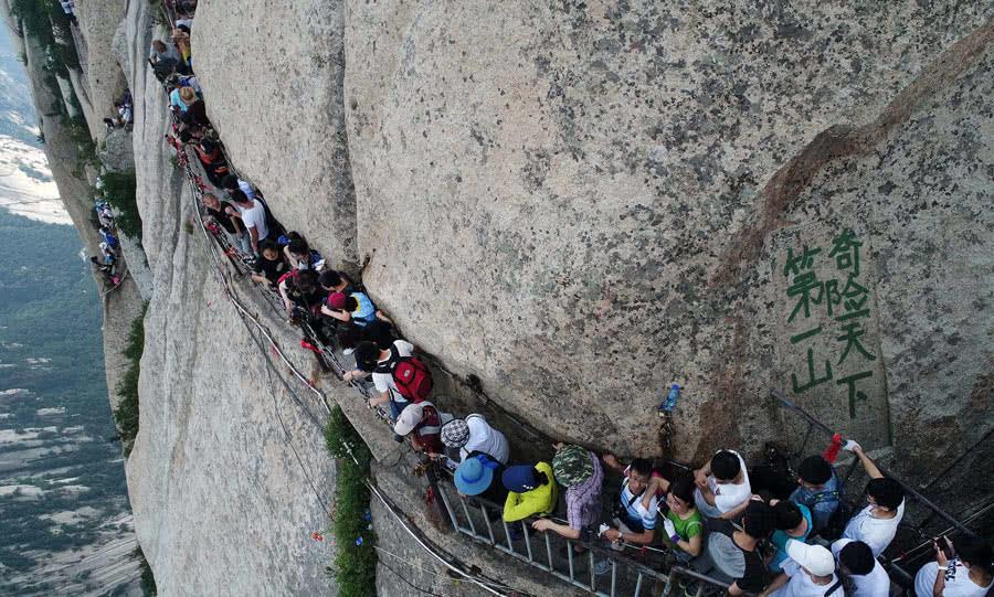 Хуаншань, тропа смерти, Китай