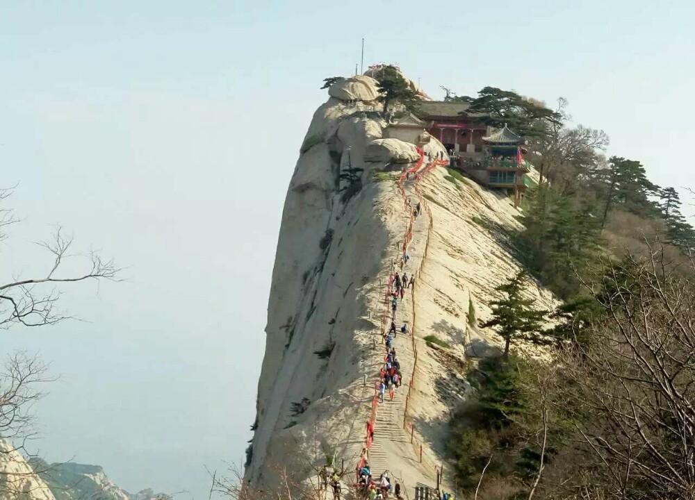 Хуашань, тропа смерти, Китай