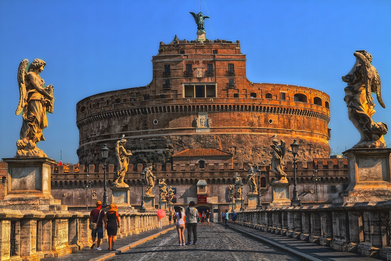 Кастель Сант-Анджело, Рим, Италия