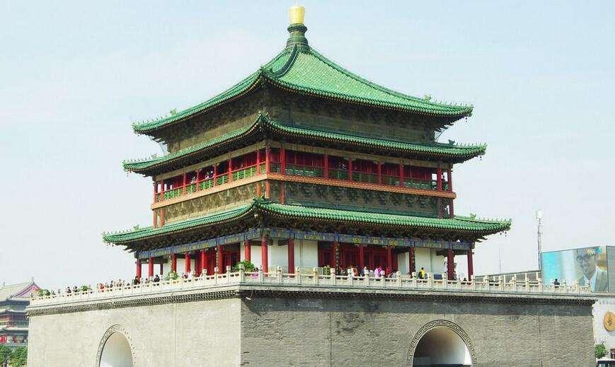 Колокольная башня Сианя, Китай