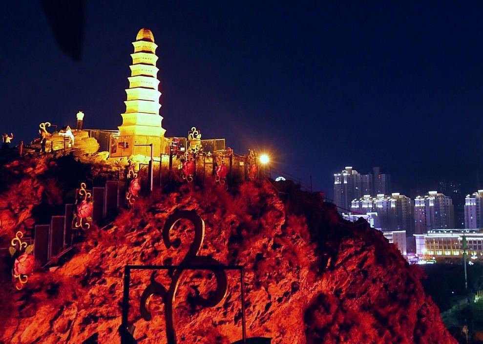 Красная гора, Урумчи, Синьцзян, Китай