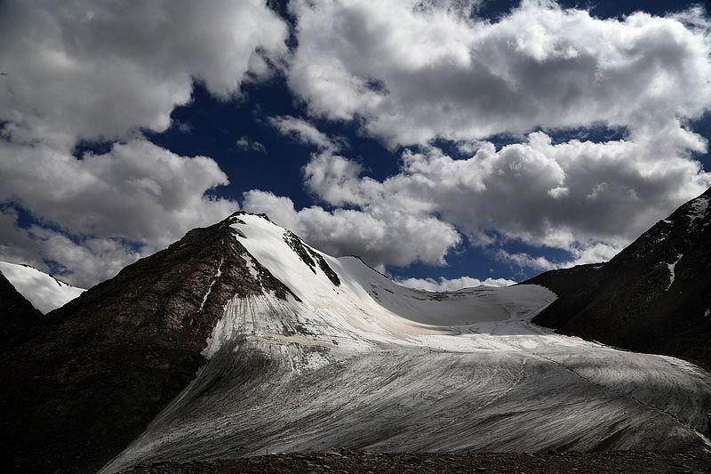 Ледник номер 1 у истоков реки Урумчи, Китай