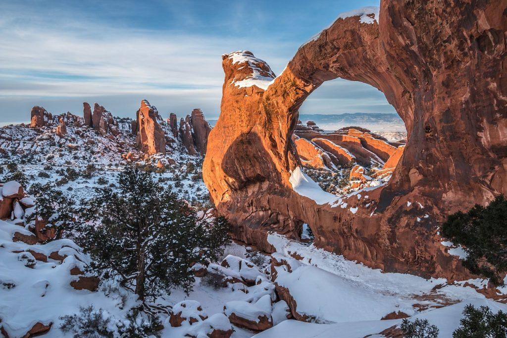 Национальный парк Арчес, штат Юта, США