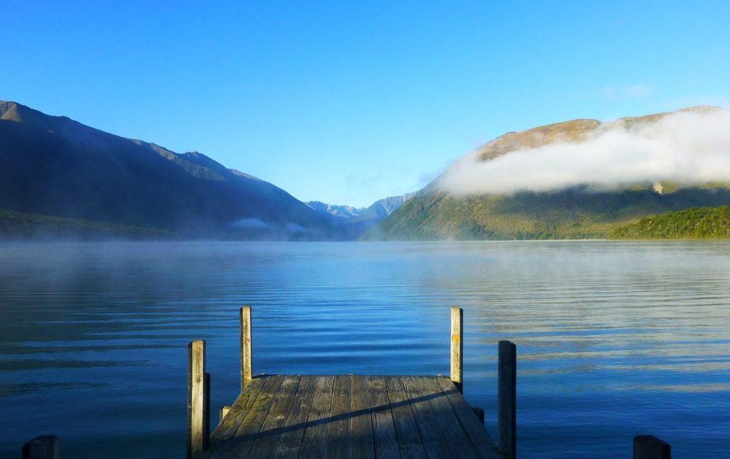 Озеро Ротоити, Новая Зеландия