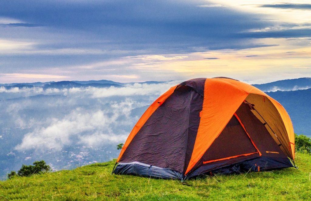 Палатка на Мачу Пикчу