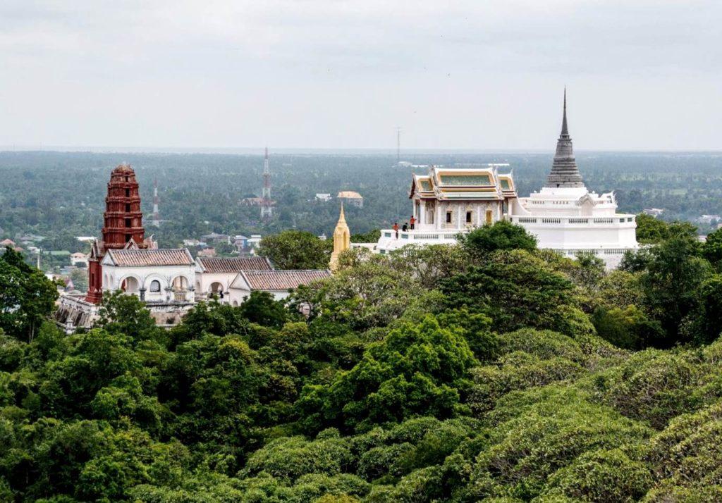 Пхетчабури, Храмы, Таиланд