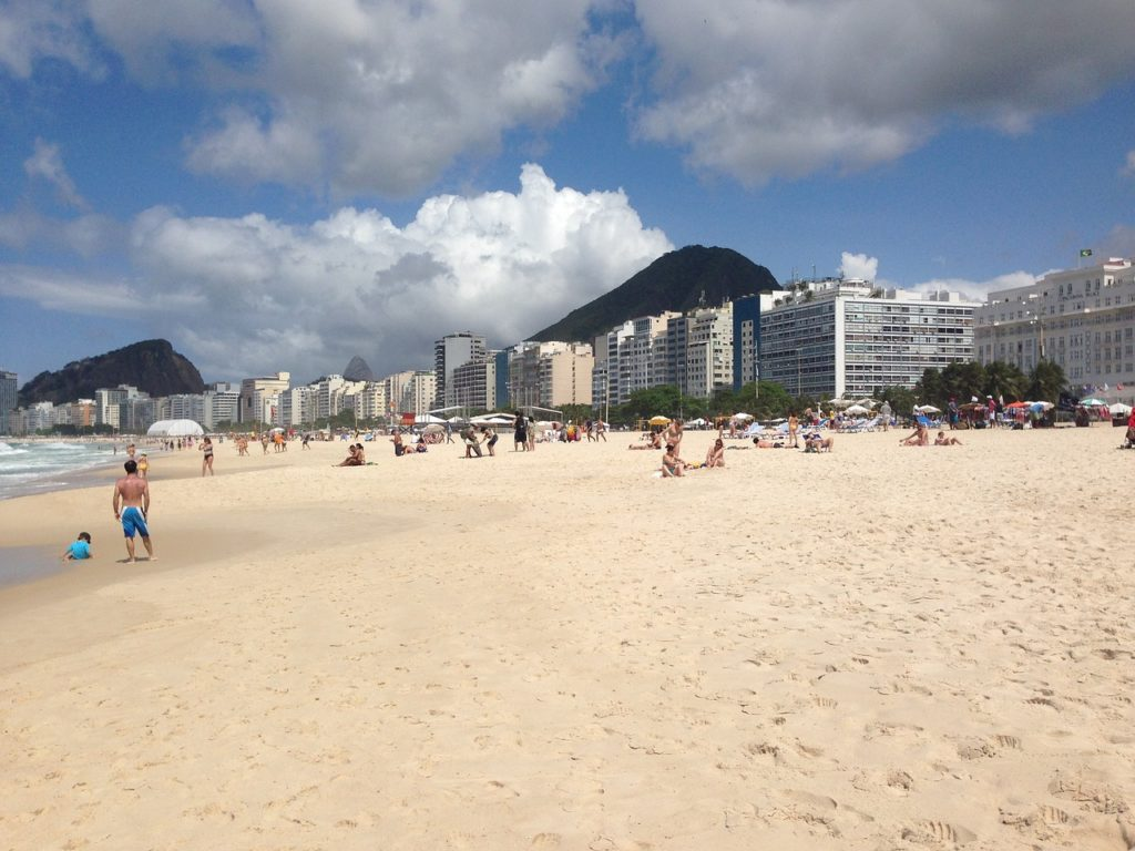 Пляж Копакабана, Рио де Жанейро