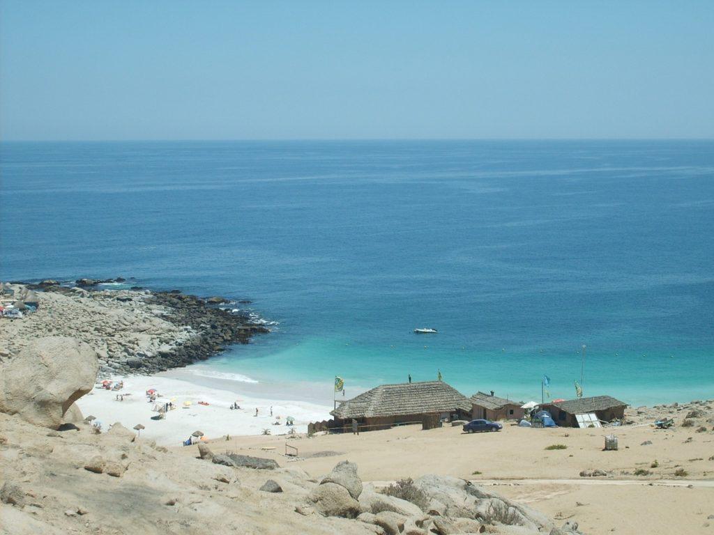 Пляжи в Чили