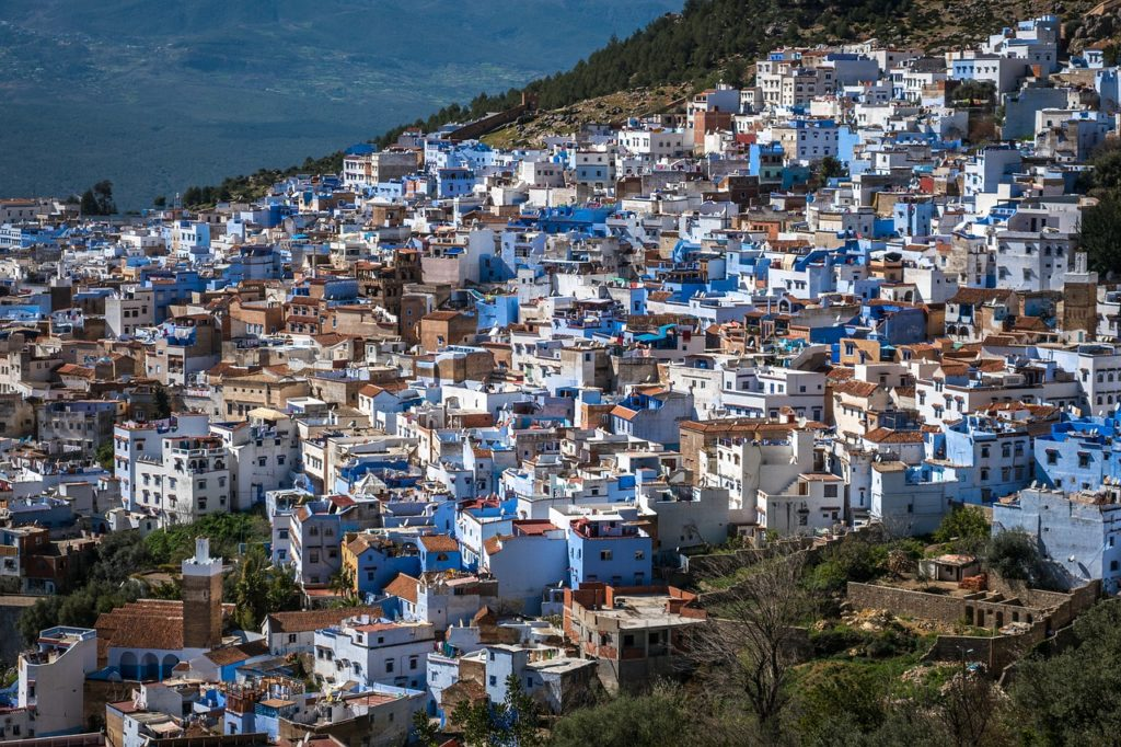 Шэфшауен, Марокко