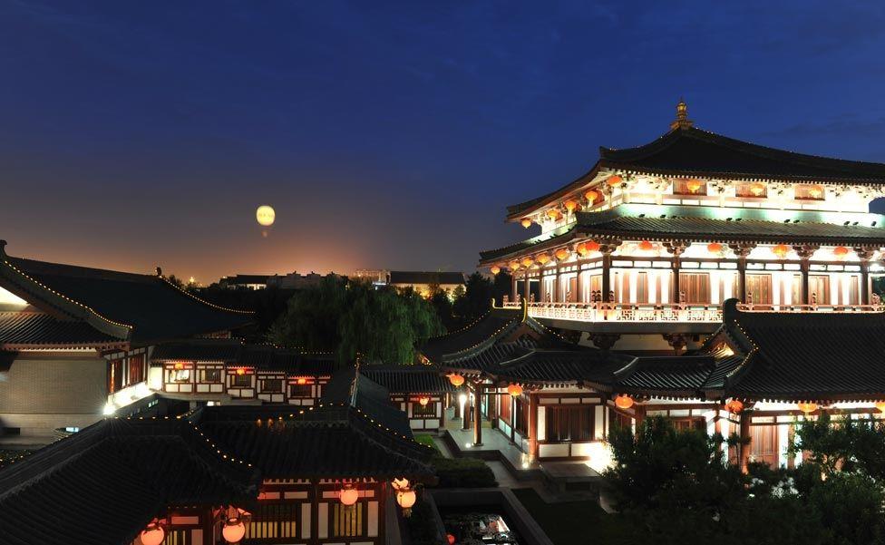Сад лотосов династии Тан