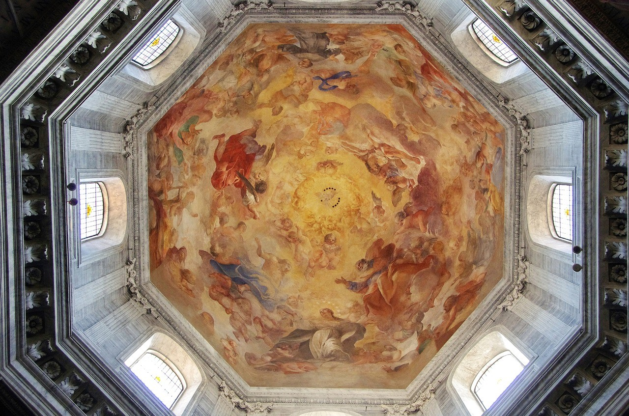 Санта-Мария-дель-Пополо, Рим, италия